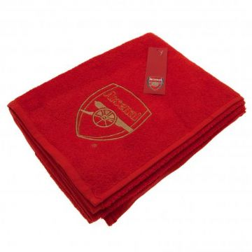 Arsenal Embroidered Towel